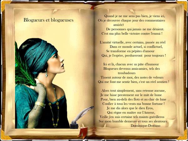 Poème De Notre Amie Dominique